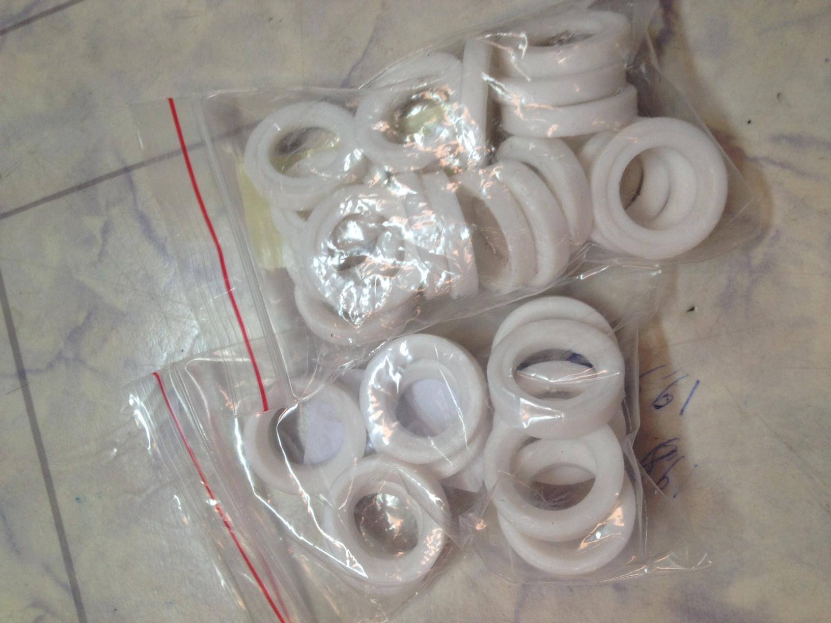 Các loại bạc nhựa teflon